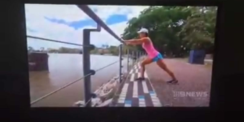 MissFit talks New Years' Resolutions on Channel 9 News