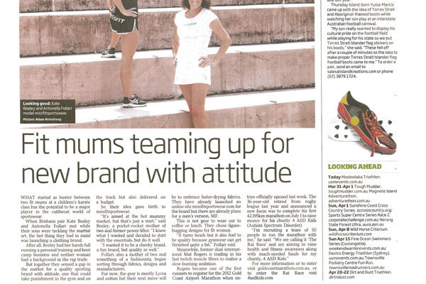 Fit mums teaming up for a brand with attitude