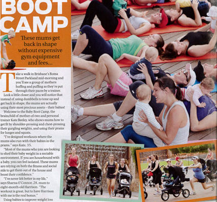 It's Baby Boot Camp